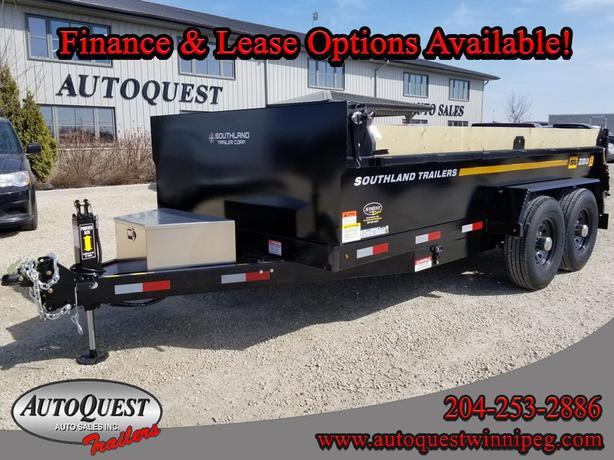 Southland SL280T-HD 7' x 14' Utility Dump Trailer - 17 600 lbs