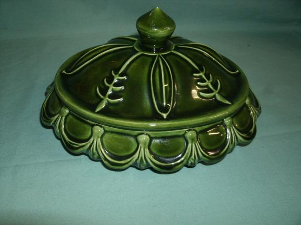 Vintage Ashtray with Lid