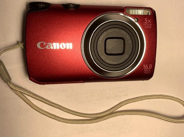 Canon PowerShot 16.0 MP Camera