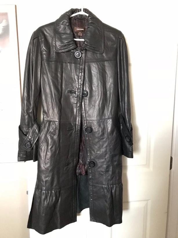 Daniel Long leather jacket . Brand new.