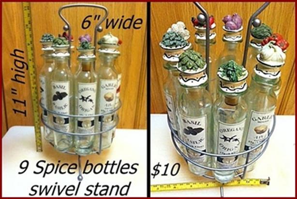 Spice Rack $10
