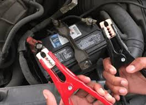 Boost car battery or Inflate flat tires without removing car wheel