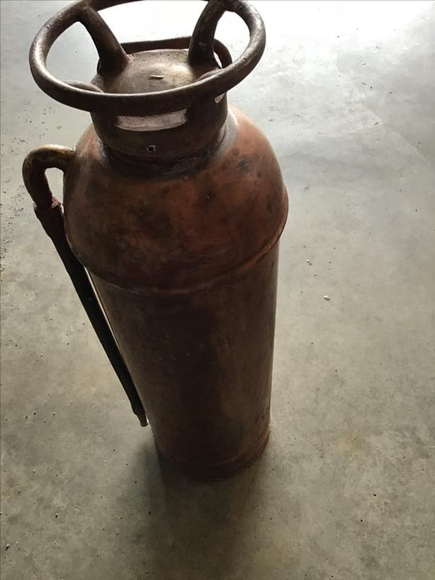 Antique Fire Extinguisher