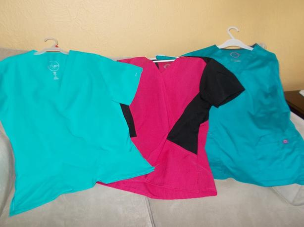 Ladies Scrub Tops (L)
