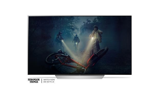 4K LG OLED TV - 65 inches - C7 model