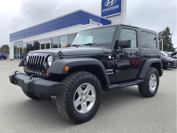 2010 Jeep Wrangler Sport 4X4 6-SPEED