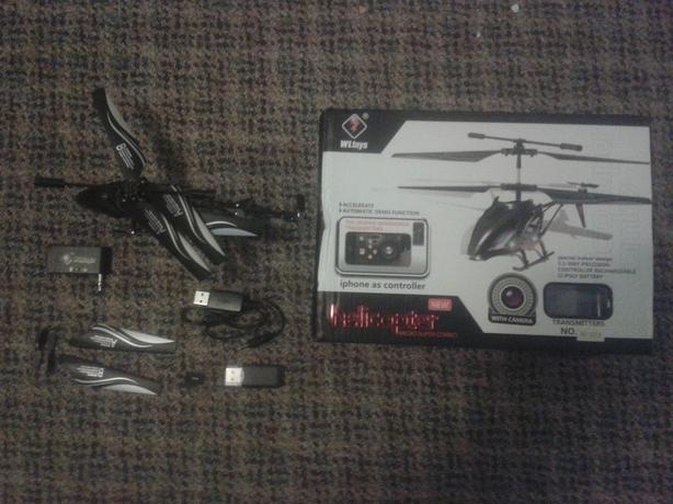 New RC helicopter with camera iPhone/Android controlled