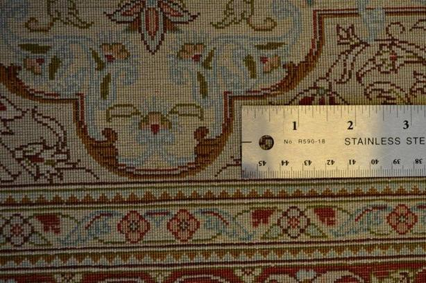 Ghom Hand-knotted/handmade Persian Rug/Carpet Traditional Authentic