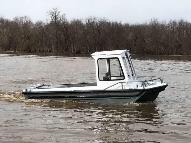 Aluminum Work Boat For Sale 20'