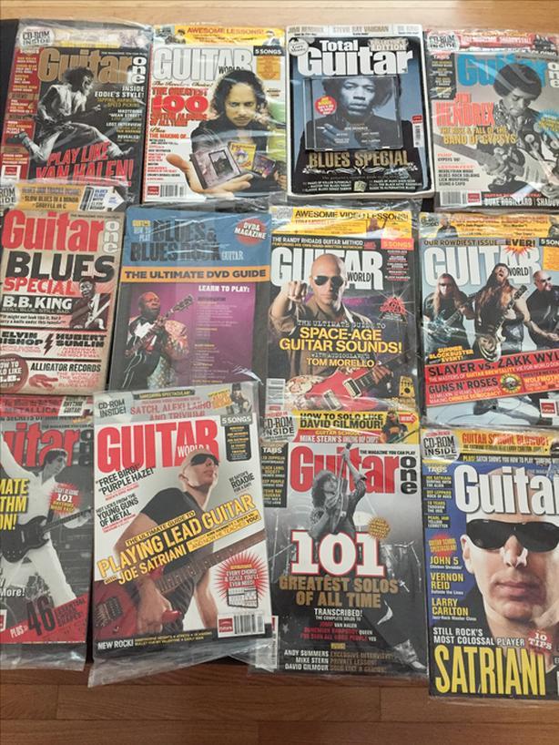 Guitar World Magazines