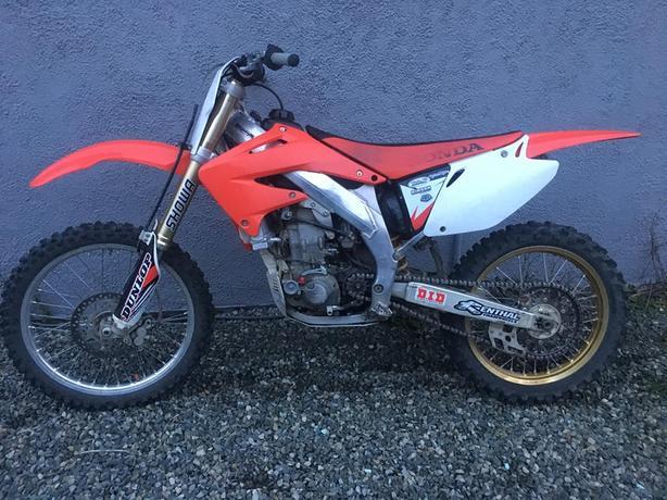 2004 Honda CRF450F