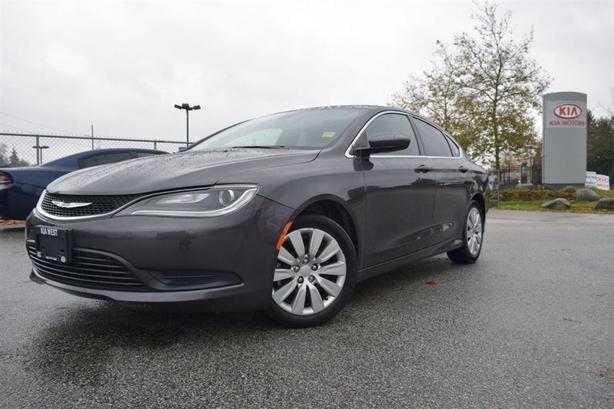 2015 Chrysler 200 LX PL/PW/AC/AUTO