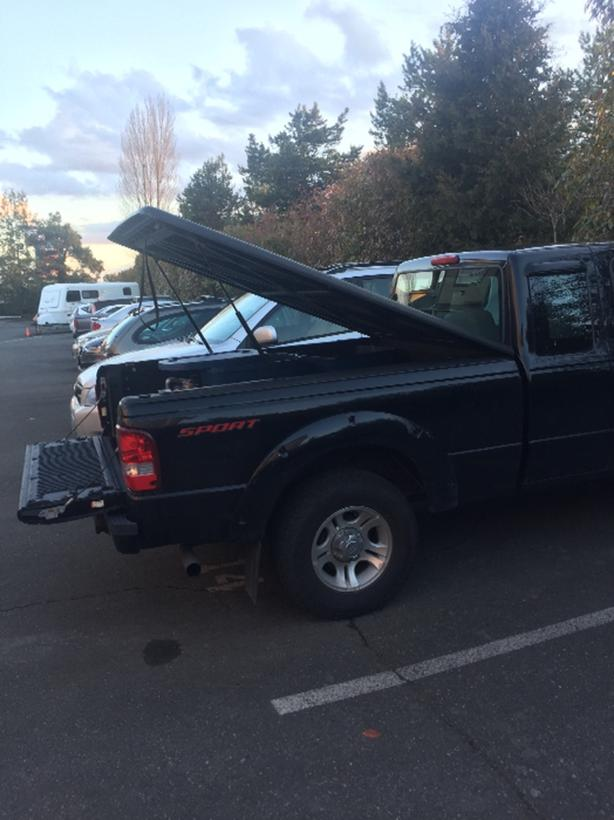 FOR TRADE: Tonneau Cover for Ford Ranger Canopy