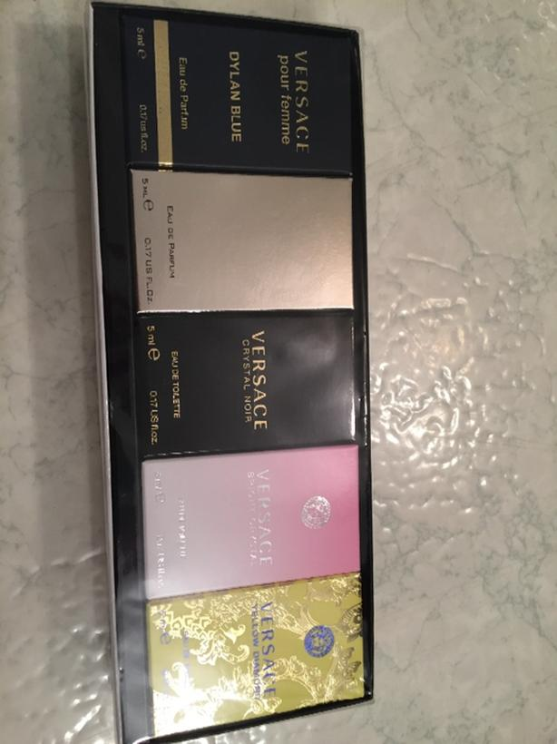 brand new still in wrapper versace sampler