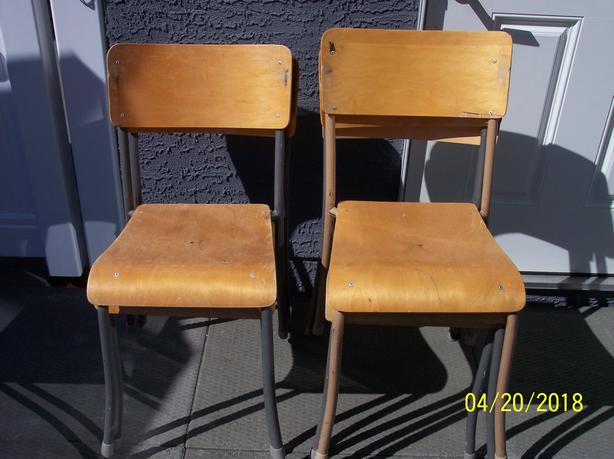 Wooden Stackable Chairs