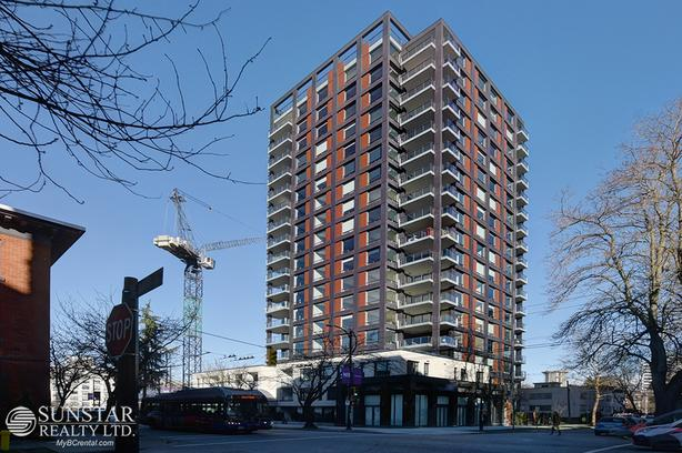 West End 2 Bed + Flex 2 Bath 1149sf Condo w/ 185sf Balcony & Views @ The Jervis