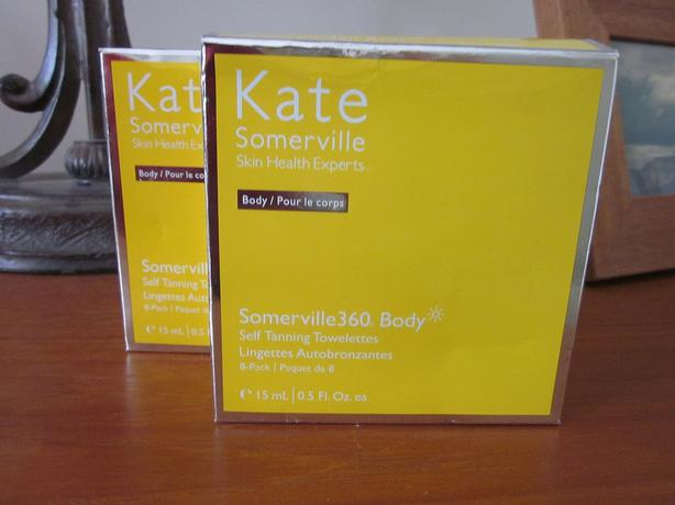 Kate Sommerville Tan Towelettes 8 count each~ 2 boxes