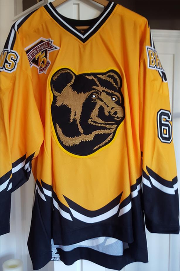 huge discount 8301c fe3df  Log In needed $325 · Authentic PRO 1998 Boston Bruins Pooh Bear Joe  Thornton Starter Jersey sz 52