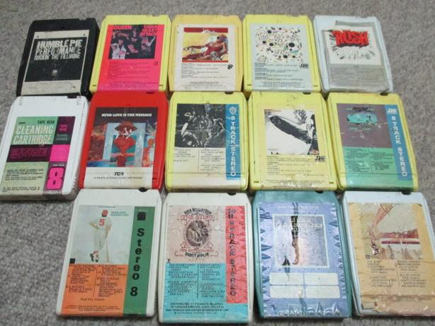 ** 13 Vintage 8 track Cartridges – Rock n' Roll ** Best Offer