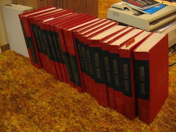 World Book Encyclopedia 1965 or 1966