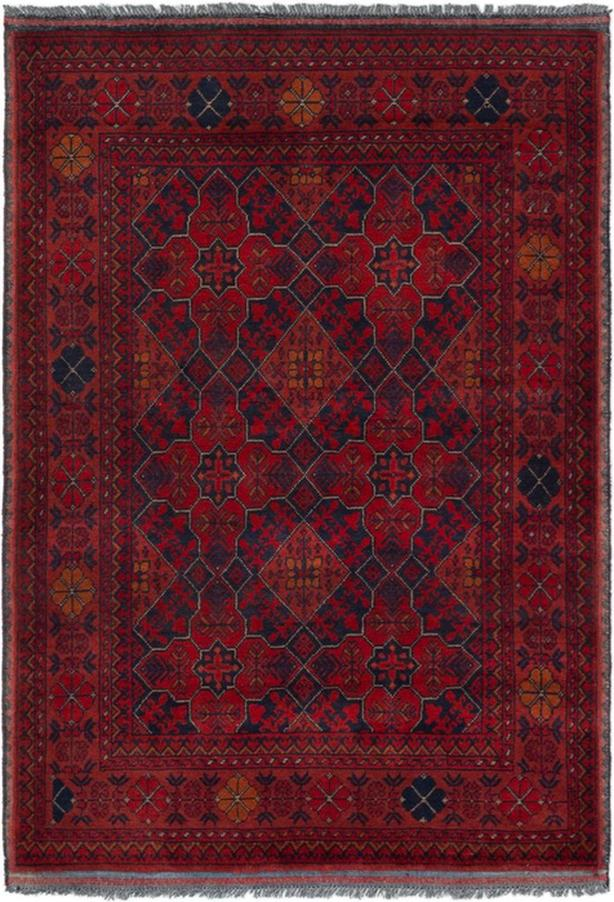 Khal Mohammad Hand-Knotted/Handmade Afghan Rug/Carpet Tribal/Nomadic Authentic