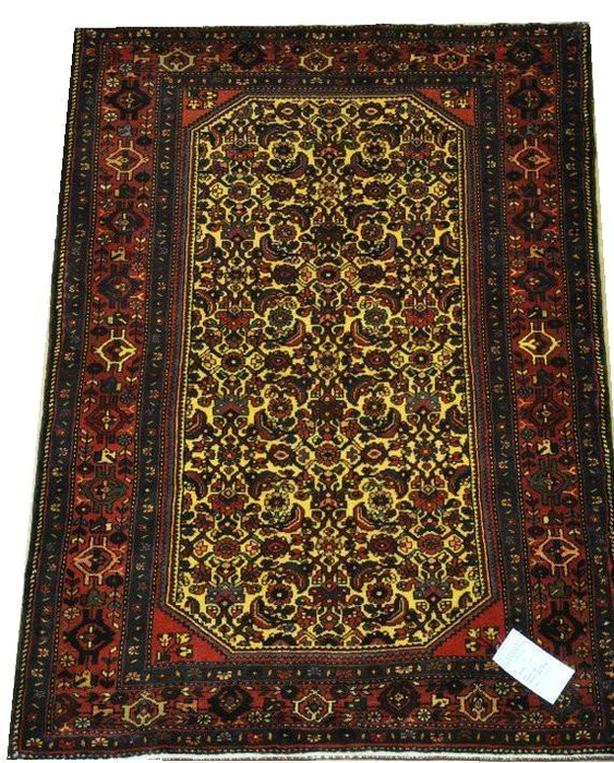 Hamadan Hand-Knotted/Handmade Persian Rug/Carpet Tribal/Nomadic Authtentic