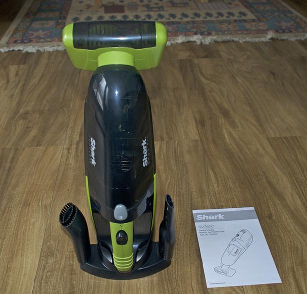 NEW! Shark Pet Perfect II Cordless Handheld Vacuum Cleaner