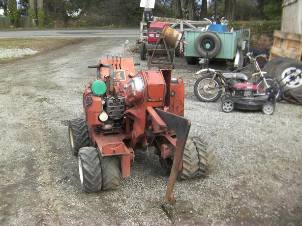 ditch witch cable plow
