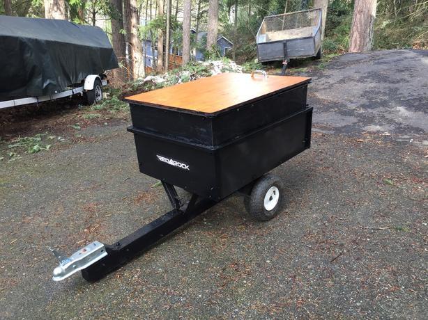 OBO.  Tiny enclosed motorcycle/ATV trailer
