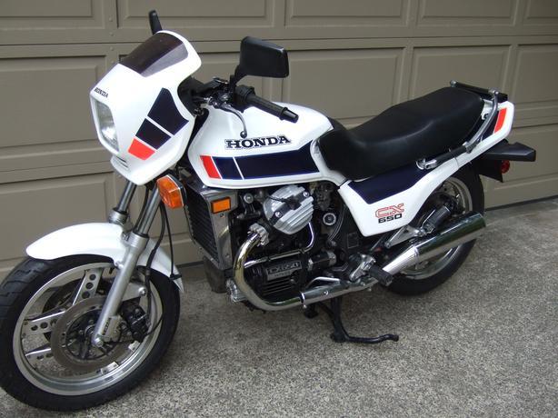 Rare 1983 Honda CX650E, w/spares