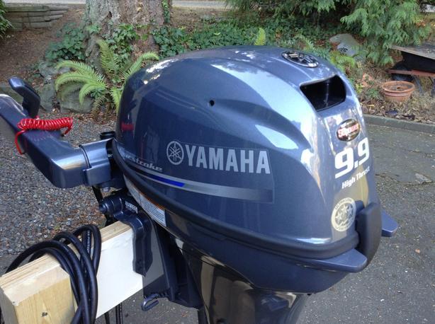 New 2018 Yamaha 9.9 High Thrust, Long Shaft
