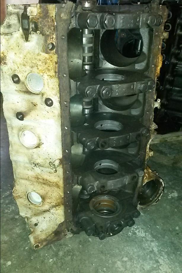454 LS5 Bare Block 4 bolt mains