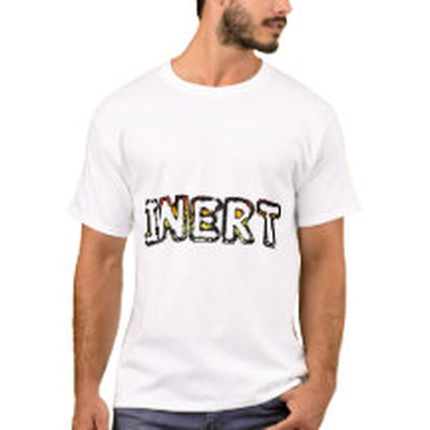 Inert mens Tshirt, NEW, gift for that special someone