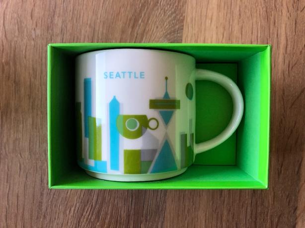 Starbucks You Are Here Collection Mug New In Box Esquimalt