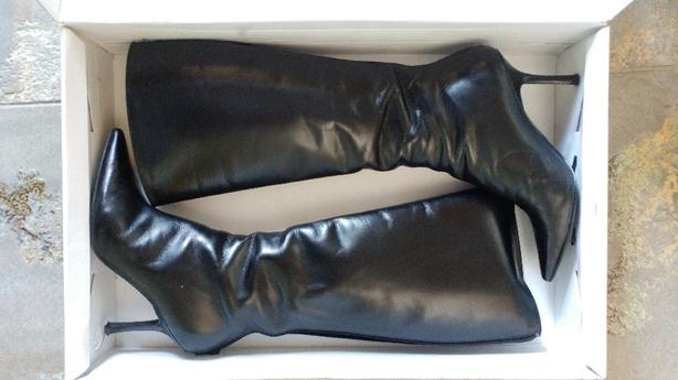 Aldo leather boots size 38