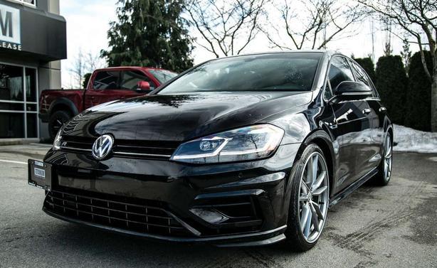 2018 VW GOLF R - Low K - Mint!