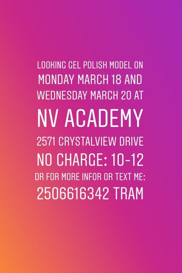 FREE: Gel polish model
