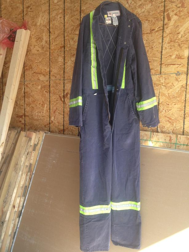 Coverall flame resistant size 46R