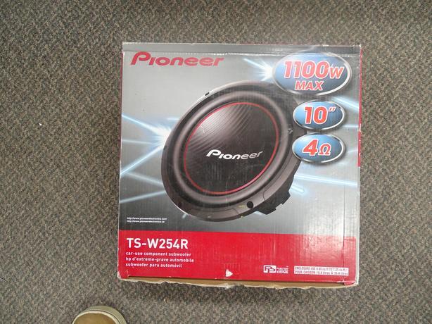 "Pioneer 10"" Subwoofer"