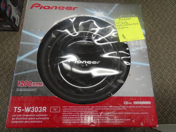 "Pioneer 12"" Subwoofer"