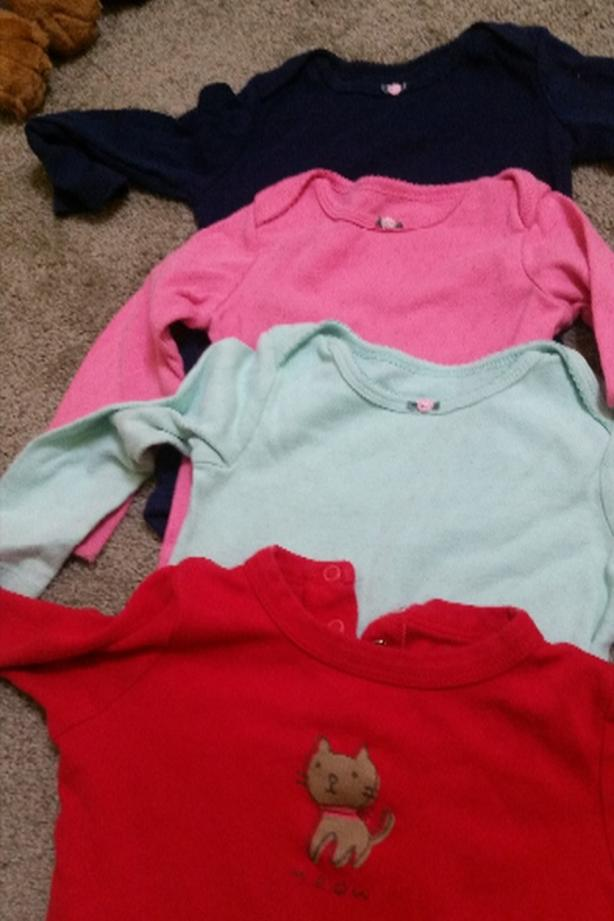 18-24 months long sleeve onesies