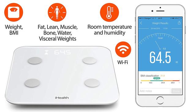 Body Composition Scale (Compatible with Apple and Android)