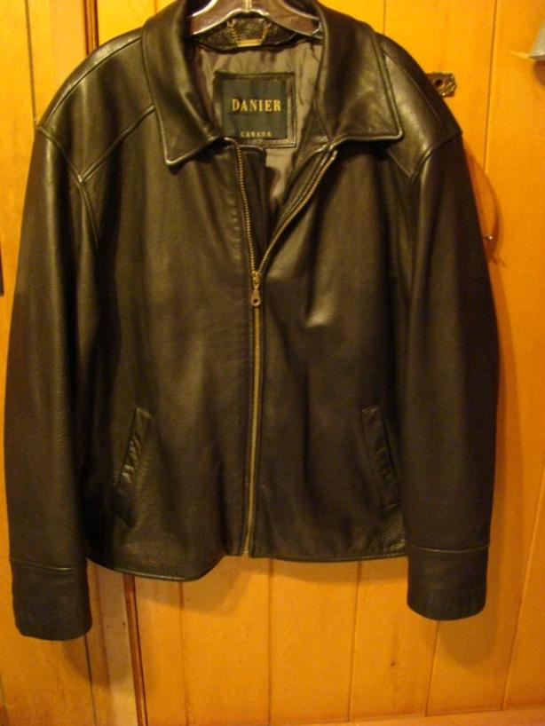 Mens's Leather Jacket size med