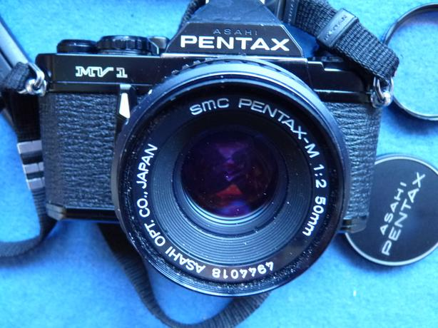 Pentax MV1 35mm film SLR camera