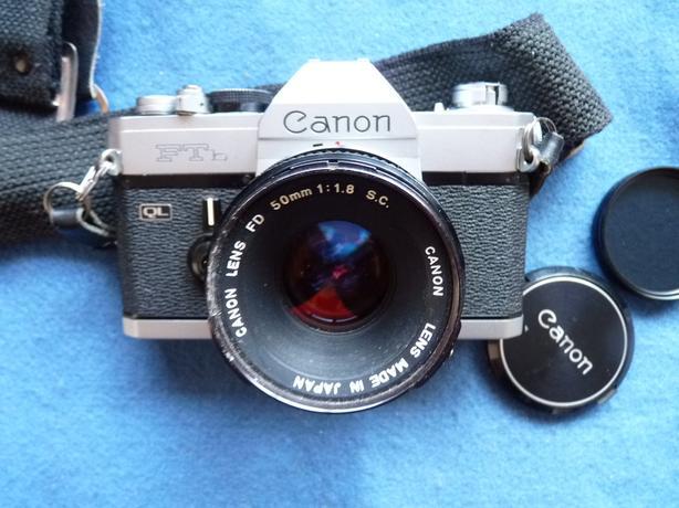 Canon FTb QL 35mm film SLR camera