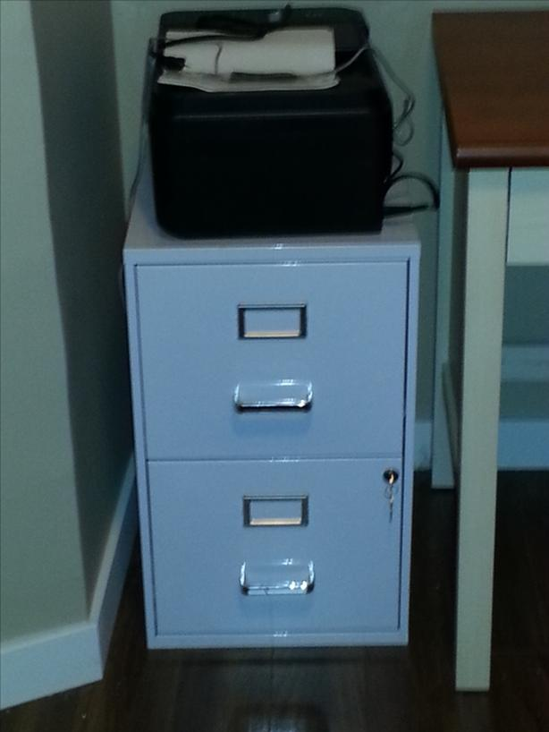 Locking File Cabinet