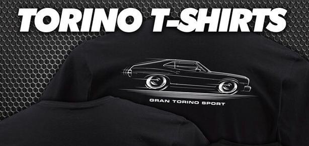Torino Gran Sport 1973 Custom Rob Martin T-shirt Brand New