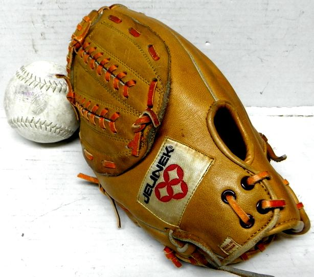 Mens Ladies Baseball Gloves Balls Jelinek Rawlings