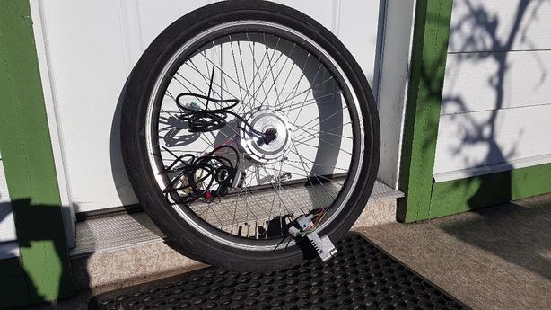  Log In needed $285 · Electric Assist bicycle motor kit front wheel 26 inch