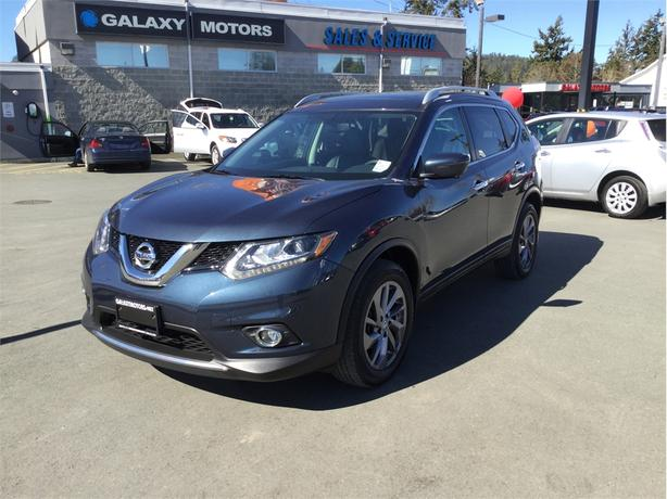 2016 Nissan Rogue SL AWD Panoramic Moonroof NAV